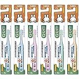 【Amazon.co.jp限定商品】(GUM)ガムデンタルブラシこども#76乳歯期用・やわらかめ 6本パック(数量限定)ソフトピック2P冊子付