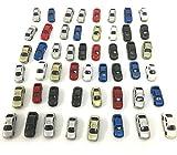 【Angelicate】1/200 スケール 自動車 100台 セット ジオラマ 情景 模型 (1/200スケール 50台)