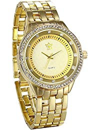 b2c27874313f JewelryWe 精美 ファション 日本製クオーツ 腕時計 ウオッチ ビジネス ...