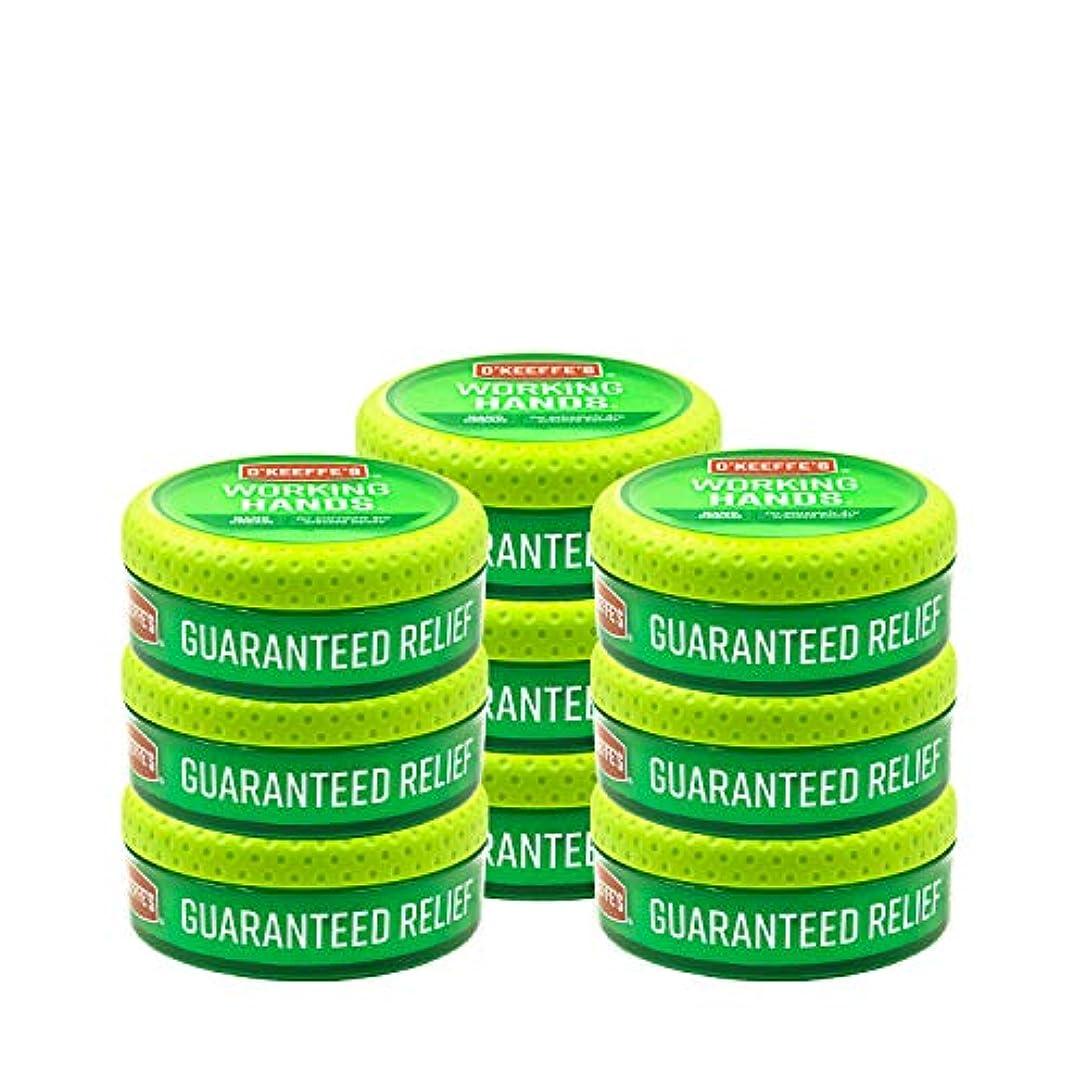 詐欺師脱走インターネットO ' Keeffe 's Working Hands Hand Cream, 3.4オンス、Jar 9 - Pack K0350002-9 9