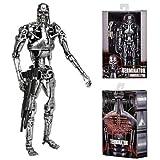 """Terminator–7"""" Scaleアクションフィギュア–T - 800Endoskeletonクラシックターミネーターウィンドウボックス図"""