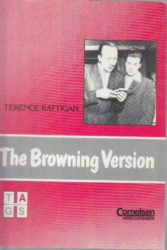 The Browning Version. Textausgabe