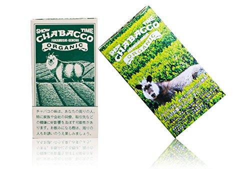 Chabacco チャバコ オーガニックシリーズ 有機煎茶 8スティック入り