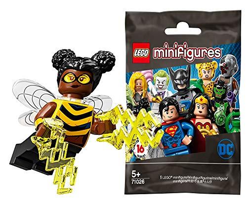 レゴ(LEGO) ミニフィギュア DCスーパーヒーローズ シリーズ バンブルビー│Bumblebee (Teen Titans) 【71026-14】