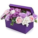 フラワー 創意ジュエリーギフトボックス 誕生日 母の日 記念日 先生の日 バレンタインデー 昇進 転居など最適としてのプレゼント