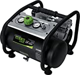 ミナトワークス 静音オイルレス型エアーコンプレッサー (100V/タンク容量12L) CP-12Si