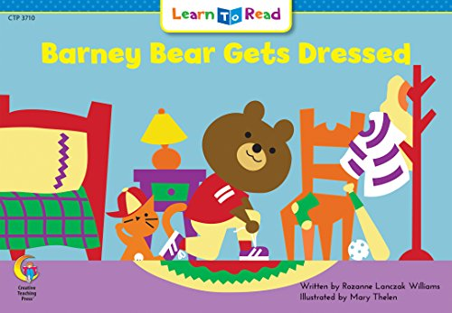 Barney Bear Gets Dressed (Math Learn to Read)の詳細を見る