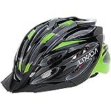 Lixada 超軽量 一体成型 EPS 自転車用ヘルメット サイクリング ヘルメット サイクルヘルメット 大人/ジュニア ヘルメット 調整可能 高機能 高剛性 ライニングパッド付き 24穴の通気性