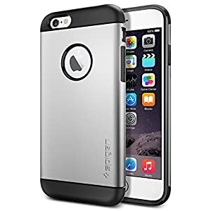 iPhone 6 ケース Spigen Apple iPhone 4.7 (2014) スリム アーマー (国内正規品) (サテン・シルバー 【SGP10958】)
