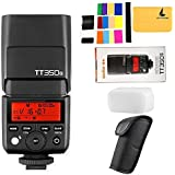 GODOX TT350S TTL Sony Camera Flash Speedlite 2.4G Wireless HSS 1 / 8000s GN36 Flash Light Sony Camera A7 A7R A77II A7S A6000 A6300 A6500 RX10