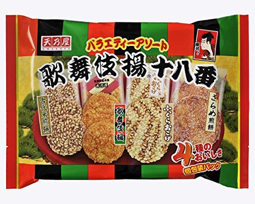 天乃屋 歌舞伎揚十八番 13枚入 10袋