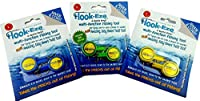 hook-eze釣りツール–3ツインパック–フックtieing &安全デバイス+ラインカッター–Tie Swivelsカバー6極メーカー保証–関節炎Disability海水淡水+フックリムーバー