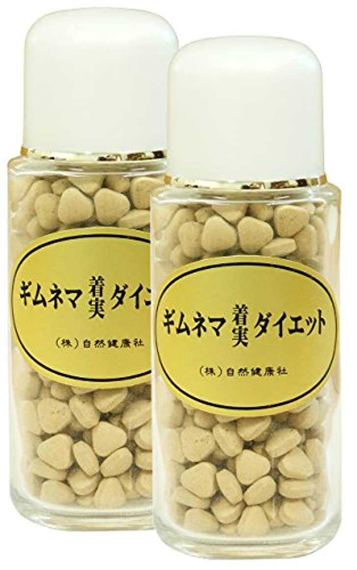 メイトインシデント正確な自然健康社 ギムネマダイエット 80g(320粒)×2個 ビン入り