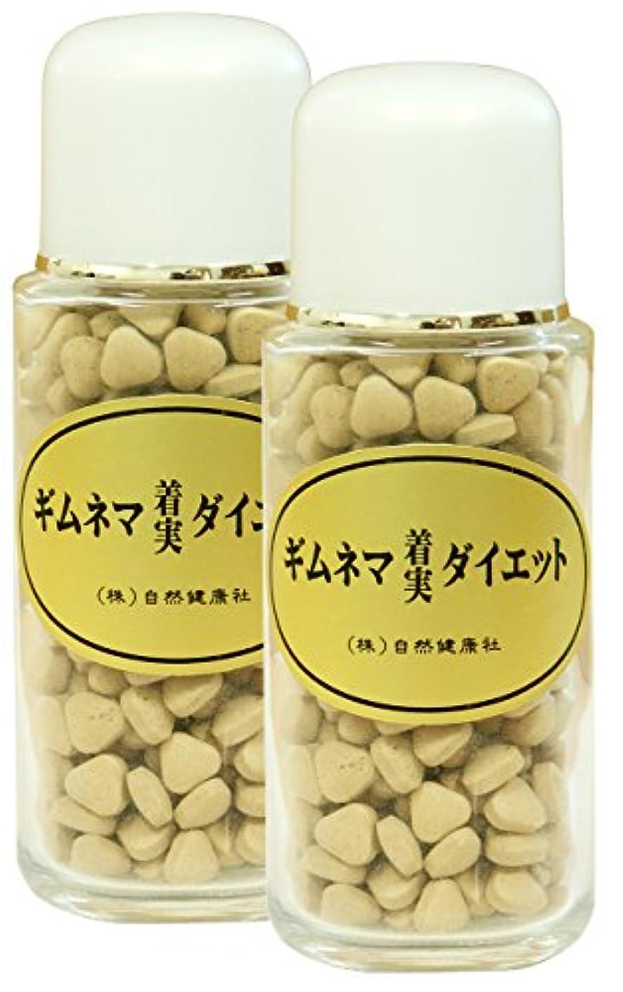 インサートランダムナイロン自然健康社 ギムネマダイエット 80g(320粒)×2個 ビン入り