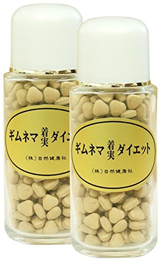 銅相反する差別する自然健康社 ギムネマダイエット 80g(320粒)×2個 ビン入り