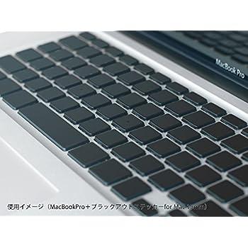 ブラックアウトステッカー for Mac 15mm(MBA/MBP~2015 JIS用)