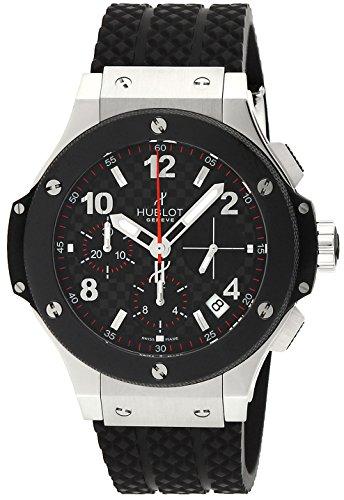 [ウブロ]HUBLOT 腕時計 ビッグバン カーボンブラック文字盤 自動巻 100M防水 341.SB.131.RX メンズ 【並行輸入品】