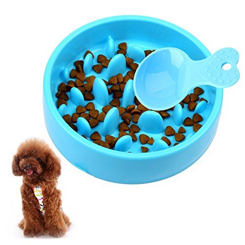 スローフード ペット用食器、ペット早食い防止、犬、猫 フード...