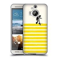 オフィシャル Robert Farkas スライド・オン・ストライプス パターン HTC One M9+ 専用ソフトジェルケース
