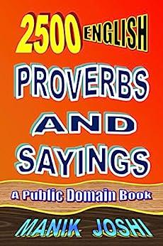 2500 English Proverbs and Sayings by [Joshi, Manik]