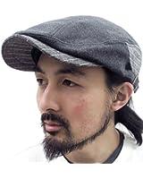 (マルカワジーンズパワージーンズバリュー) Marukawa JEANS POWER JEANS VALUE ハンチング メンズ 帽子 切替 2color