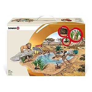 シュライヒ ワイルドライフ 動物達の水飲み場セット フィギュア 42258