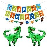 誕生日 飾り付け 恐竜 ガーランド ドラゴン 化石 パーティー 飾り