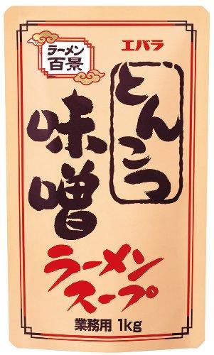 エバラ とんこつ味噌ラーメンスープ 業務用 1kg
