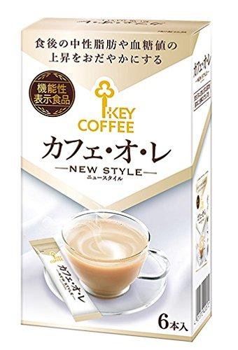 キーコーヒー カフェオレ ニュースタイル (14gx6p) 84g