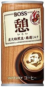サントリー 缶コーヒー ボス 憩 185g×30本
