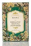 KAMA AYURVEDA 100% 有機 オーガニック ヘナ パウダー Organic Henna Powder, 100g