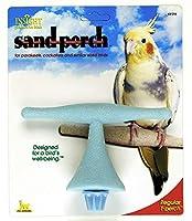 小鳥用 T型 爪とぎサンドパーチ