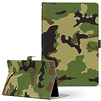 MediaPad T2 10.0 Pro Huawei ファーウェイ SIM MediaPad メディアパッド タブレット 手帳型 タブレットケース タブレットカバー カバー レザー ケース 手帳タイプ フリップ ダイアリー 二つ折り チェック・ボーダー 模様 グリーン 緑 迷彩 t210sim-008469-tb