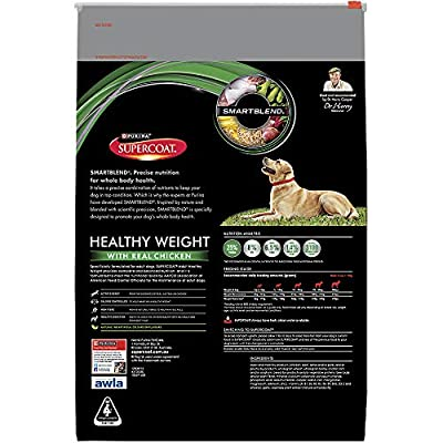 SUPERCOAT Adult Dog Healthy Weight 12kg