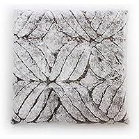 マイクロファイバー冬用座布団、50 X 50 cm、3色 (ブラウン)