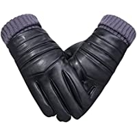 Deylaying 男性防風スキースノーボードグローブ冬暖かい横滑り防止機能裏地太い手袋