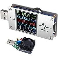 AVHzY USBテスター電流電圧テスターチェッカークイックバッテリー充電器検出器DC6A26V充電器容量テスターPPSトリガー急速充電PD/QCに適応日本語オペレーティングシステム 日本語説明書付き