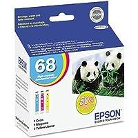 epst068520–EPSON No。68Triカラーインクカートリッジ