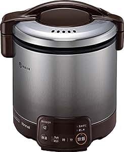 リンナイ ガス炊飯器 「こがまる」 5合 RR-050VQT(DB) ブラウン 都市ガス用 RR-050VQT(DB)/13A