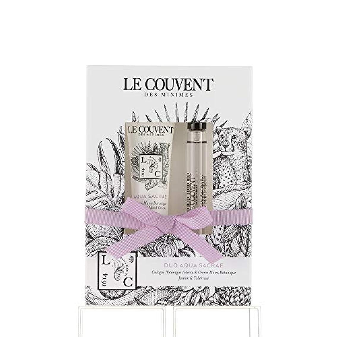 候補者一般的にヘッジクヴォン?デ?ミニム(Le Couvent des Minimes) ボタニカルデュオ アクアサクラエ ボタニカルコロンアクアサクラエ10mL×1、アクアサクラエ ハンドクリーム30g×1