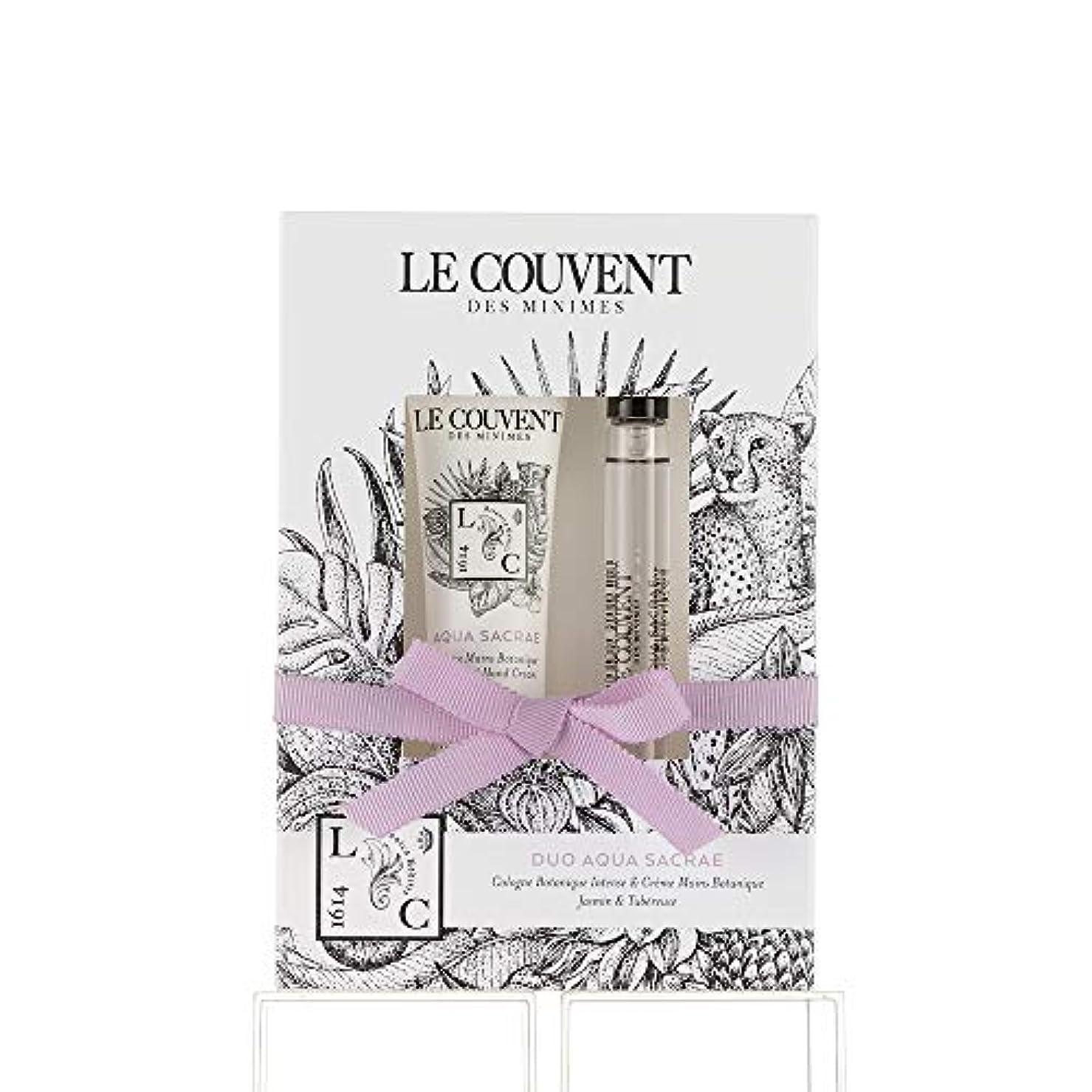 平等平等有毒クヴォン?デ?ミニム(Le Couvent des Minimes) ボタニカルデュオ アクアサクラエ ボタニカルコロンアクアサクラエ10mL×1、アクアサクラエ ハンドクリーム30g×1