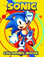 Sonic Coloring Book: JUMBO Coloring Book | 60 illustrations | Sonic The Hedgehog | Great Coloring Pages | Ages 2-8