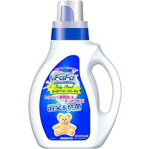 ファーファ 洗濯洗剤 液体 ベビーフローラル 本体 900ml