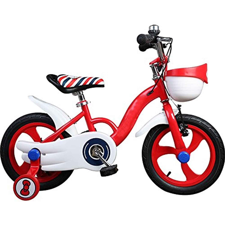 YANFEI 子ども用自転車 子供の自転車の女の子12/14/16インチ2歳の女の子の子供の乳母車の自転車へ 子供用ギフト