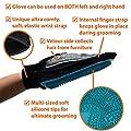Zenify Pet Grooming Glove Luxury Dog Fur Cat Hair Remover 2-in-1 Deshedding Mitt