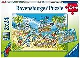 ラベンスバーガー(Ravensburger) ジグソーパズル 05089 5 冒険の島(24ピース×2)