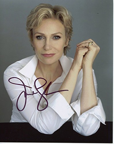 Jane Lynch Signed Autograph Glee Role Models Wreck It Ralph 8x10 Photo W COA pj