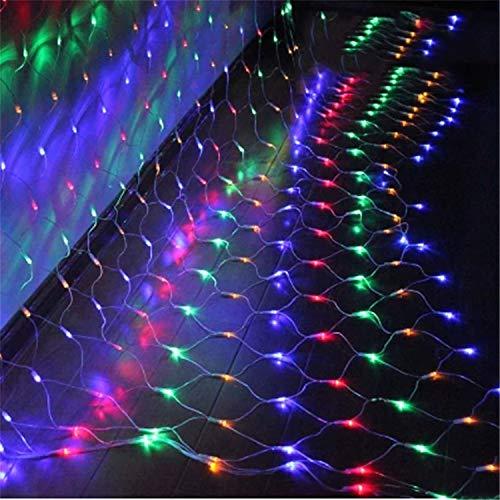 ネットライト イルミネーション ランプ LED カラフル 夜...