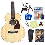 ミニギター アコースティックギター S.Yairi YM-03 トップ単板 ハイグレード 15点セット NTL [98765] 【検品後発送で安心】