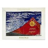 赤富士 あかふじ akafuji パスポートカバー パスポートケース